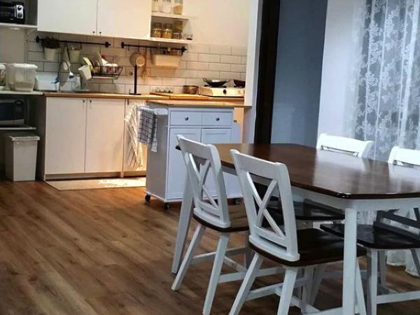 Lantai Vinyl untuk dapur